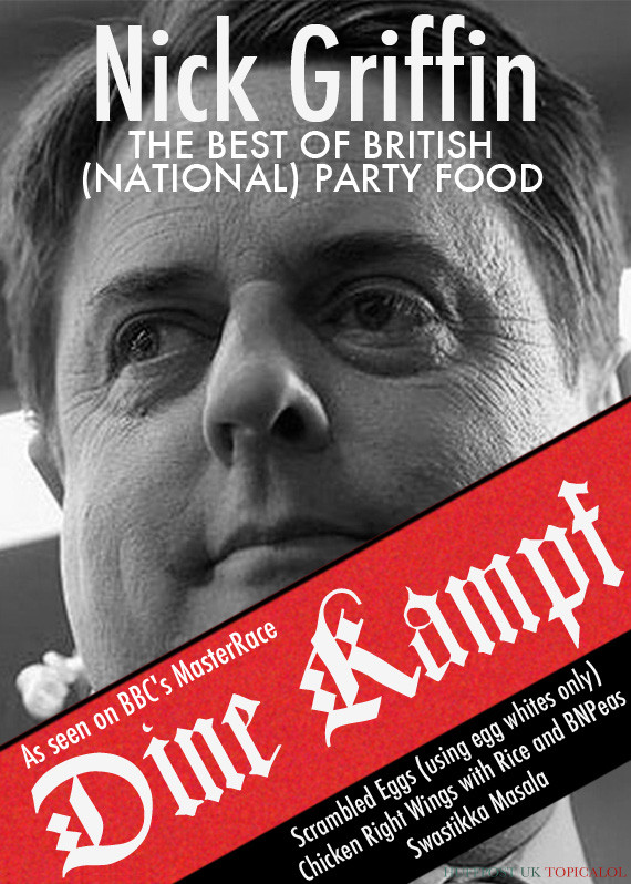 nick griffin cookery book