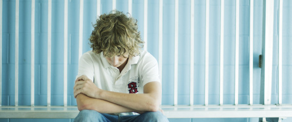 DEPRESSED TEEN SCHOOL