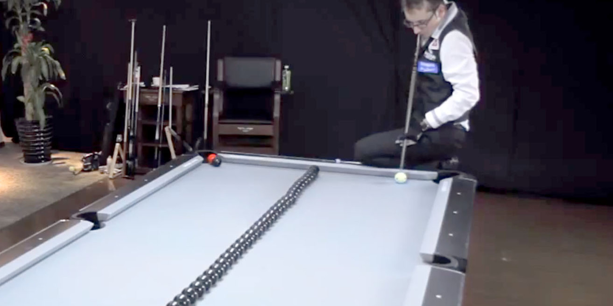 These amazing billiards trick shots don 39 t even look real - Awesome swimming pool trick shots ...