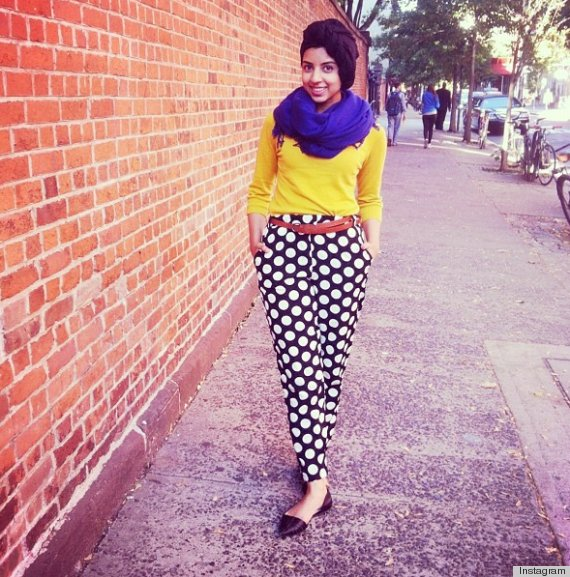 Stylish Blogger Reminds Us 39 The Hijab And Fashion Are Not Mutually Exclusive 39 Video Huffpost