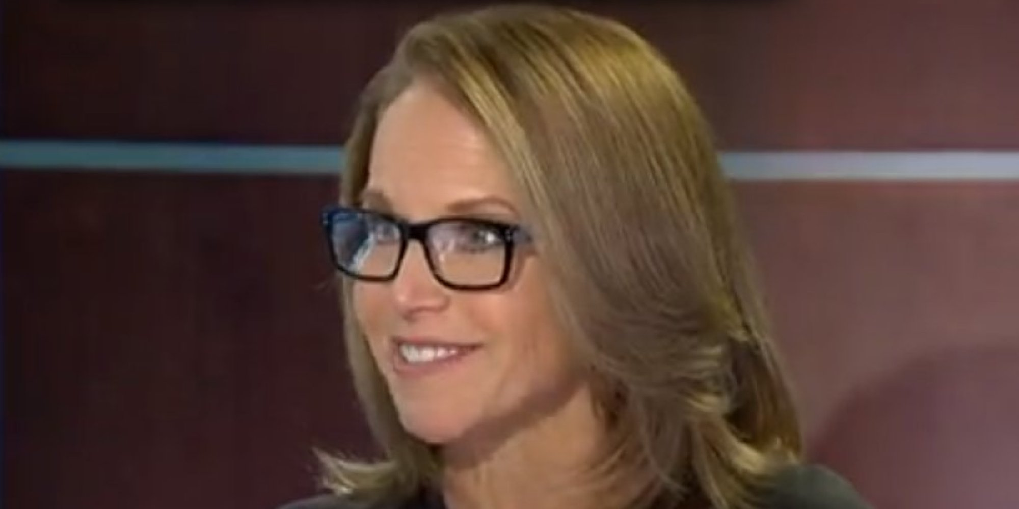 Katie Couric Makes Yahoo Global Anchor Debut Huffpost