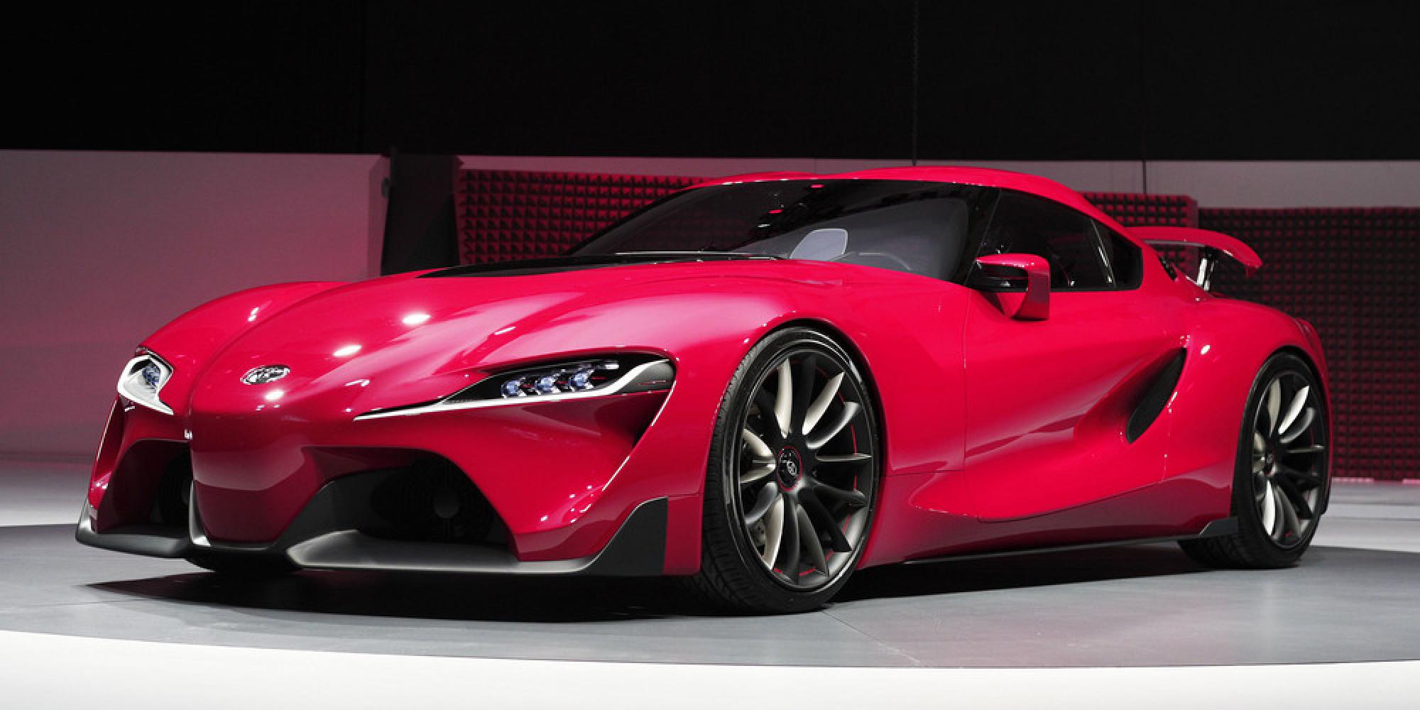 トヨタが「ft 1」を発表 新型スーパーカーの試作車