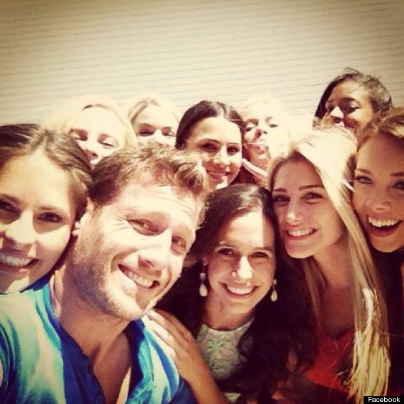 the bachelor selfie