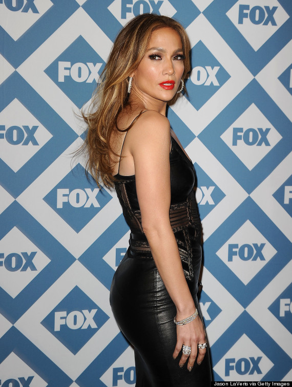 Jennifer Lopez American Idol 2014 Hair