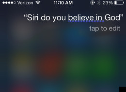 Here's What Happens When You Ask Siri About God