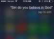 Siri's Religious Beliefs: Does Your iPhone Believe In God?
