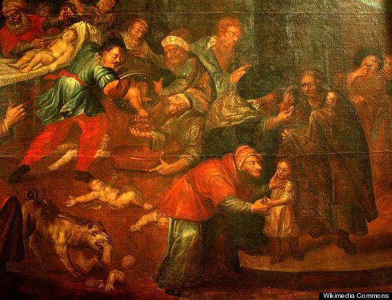 Ritual Murder Painting Of Jews Killing Christians Mord