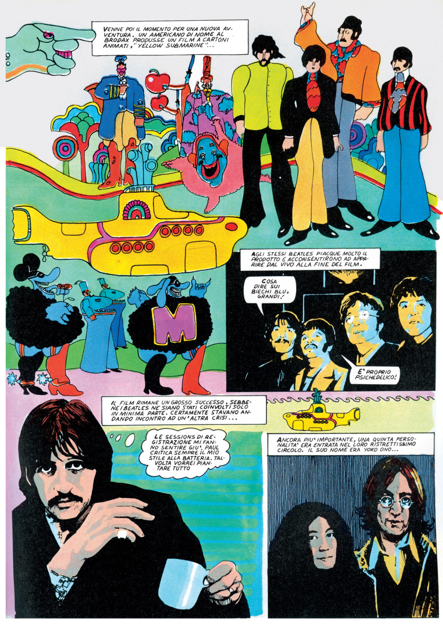 a comprehensive guide to the beatles 39 invasion of comic culture huffpost. Black Bedroom Furniture Sets. Home Design Ideas