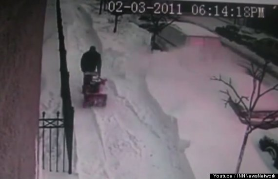 snow shovel revenge