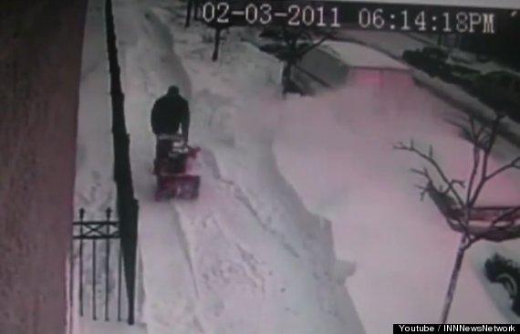 snow shovel revenge