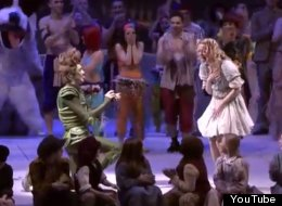 WATCH: Peter Pan Proposes To His Wendy