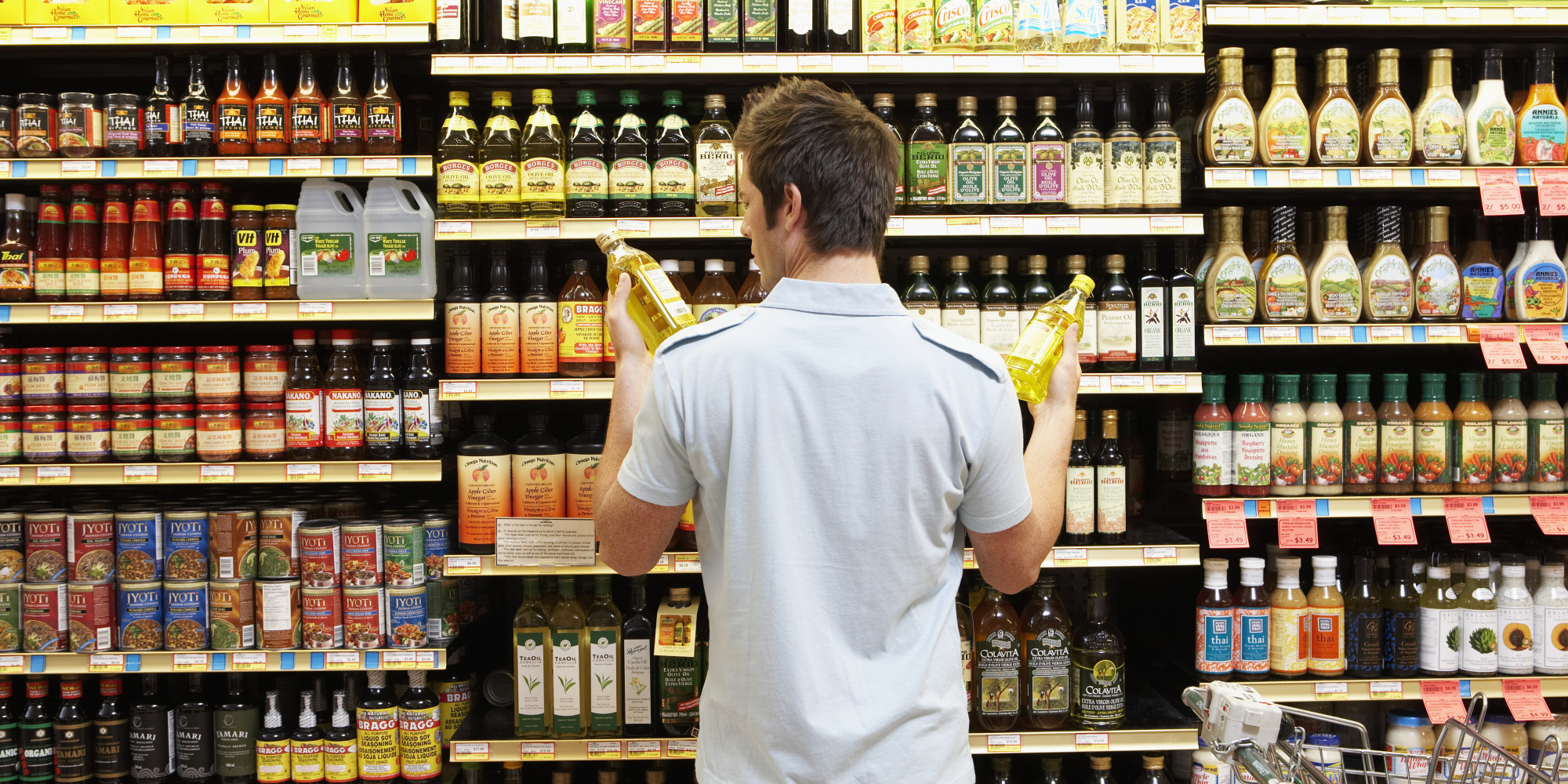 5 mistakes people make at the grocery store huffpost for Shopping cuisine