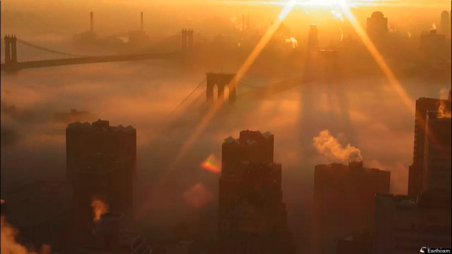 new york city fog