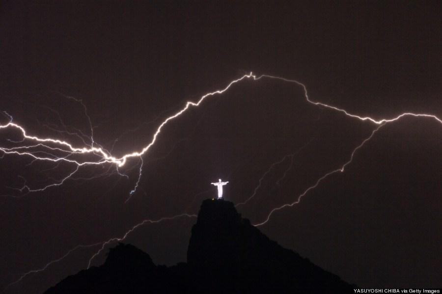lightning brazil
