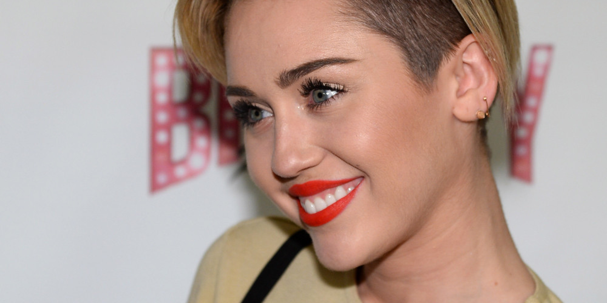 Miley Cyrus Debuts Bowl-Cut Hairstyle In Los Angeles