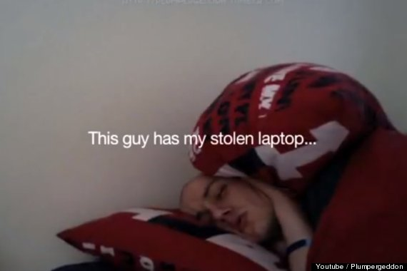 laptop thief