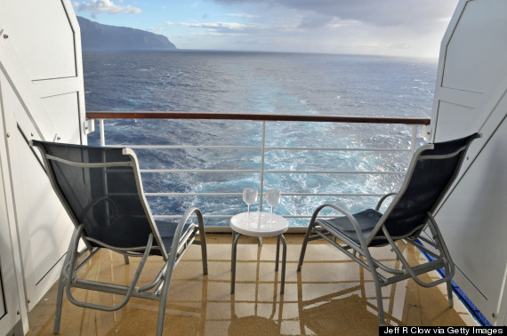 cruise balcony