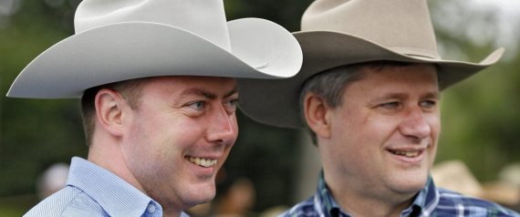 ROB ANDERS STEPHEN HARPER