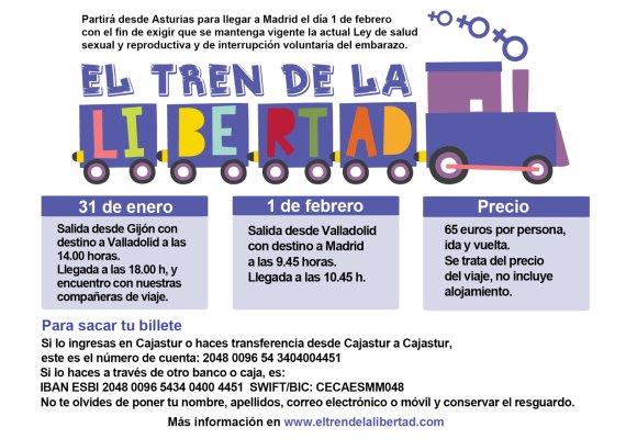 El Tren de la Libertad - 1 de febrero Atocha (Madrid)