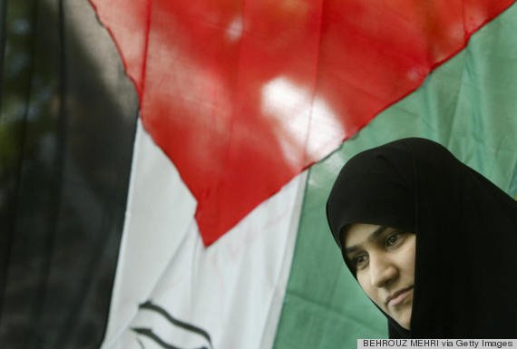 iran woman flag
