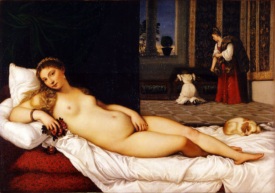 Classic erotic paintings by famous artists