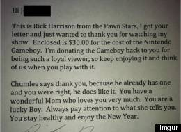 LOOK: 'Pawn Stars' Reality Star Responds To Letter From Little Boy With Autism In The Most Awesome Way