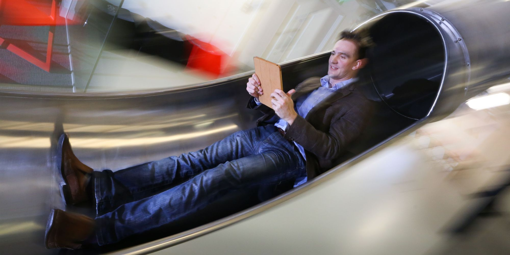 Tech Office In Folkstone Builds Slide For Googleesque Staff