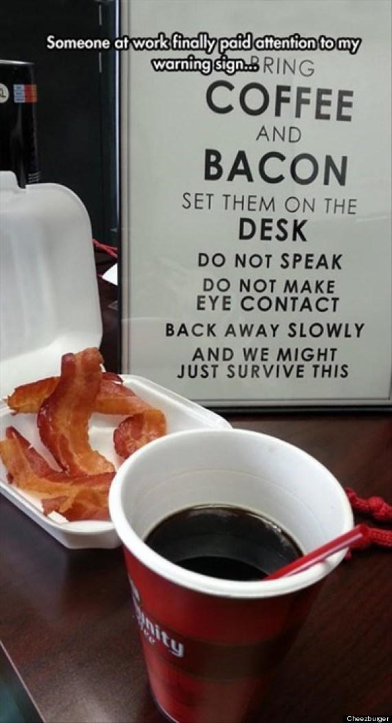 coffee bacon