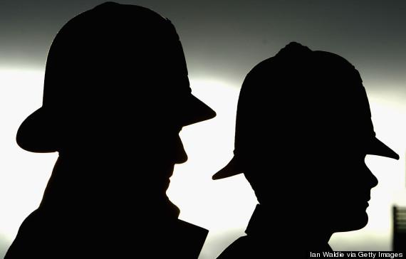metropolitan police silhouette