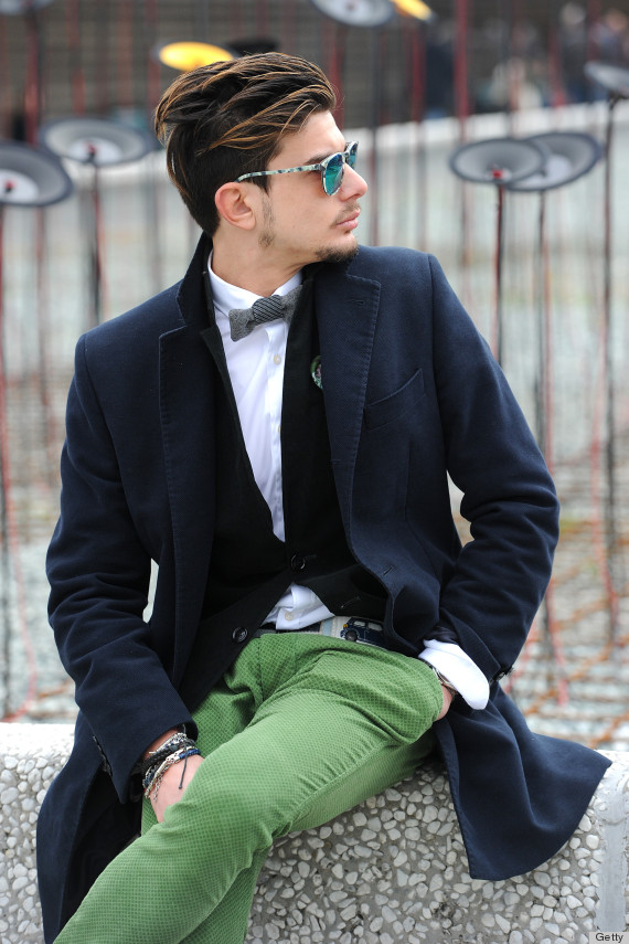 We Wish More American Men Dressed Like The Guys In Italy Huffpost