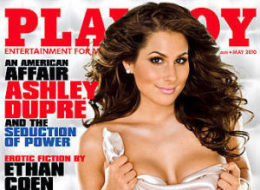 Ashley Dupre Playboy Picture Photo Cover