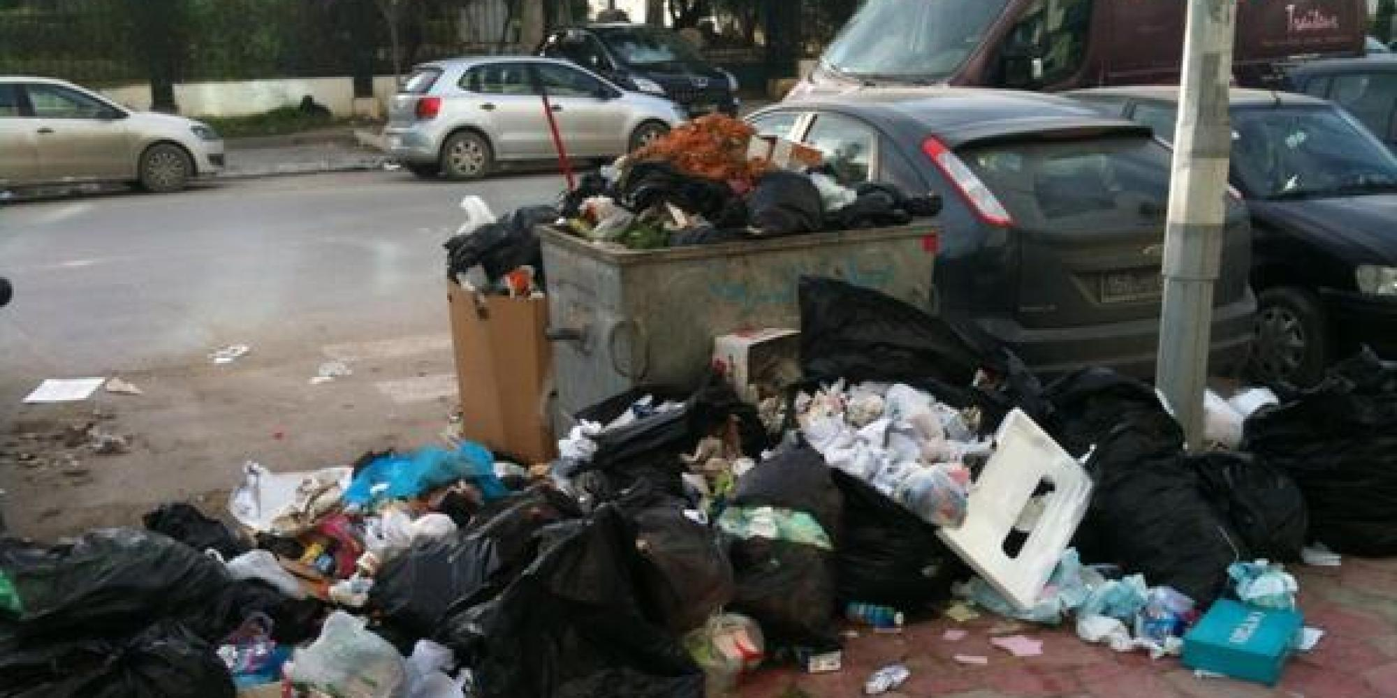 Le fléau des ordures en Algérie