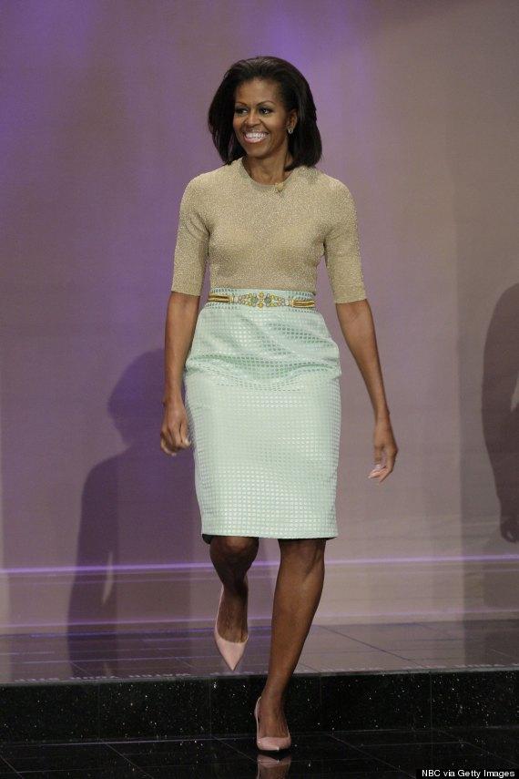 michelle obama tonight show january 31