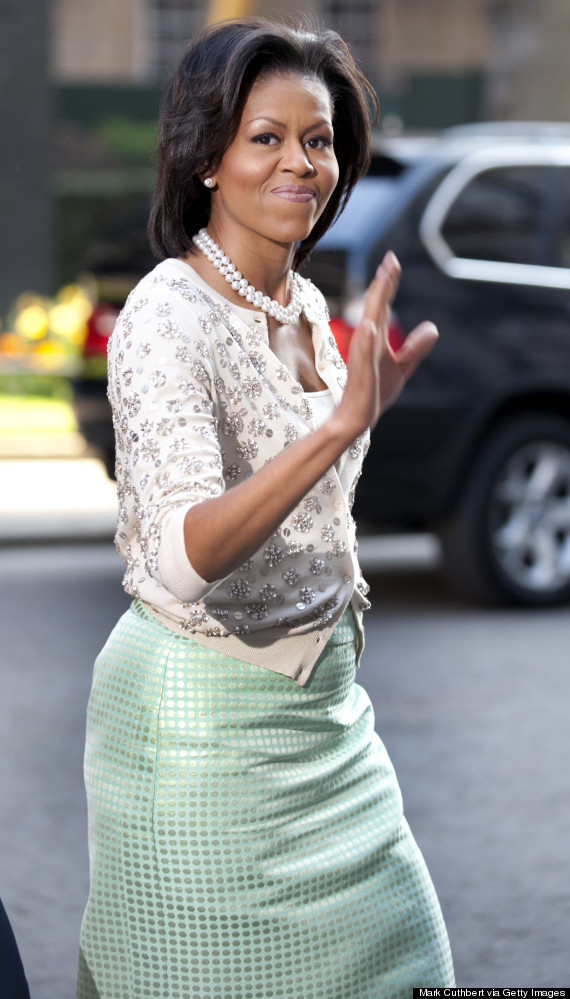 michelle obama 10 downing street in 2009