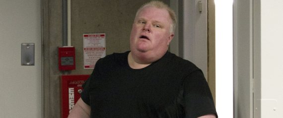 rob ford weight