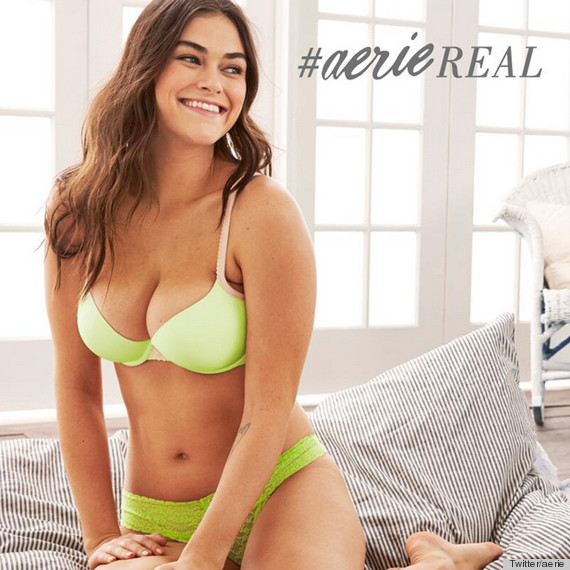 Aerie's Unretouched Ads 'Challenge Supermodel Standards