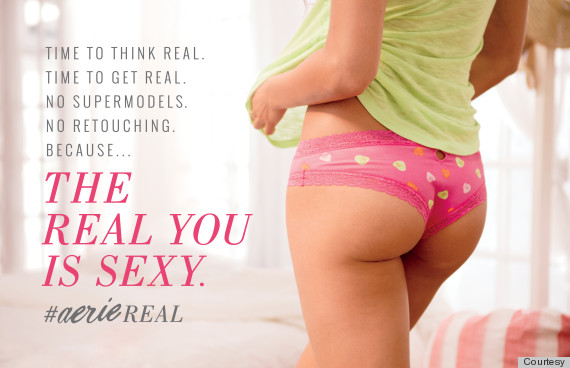 aerie real unretouched campaign