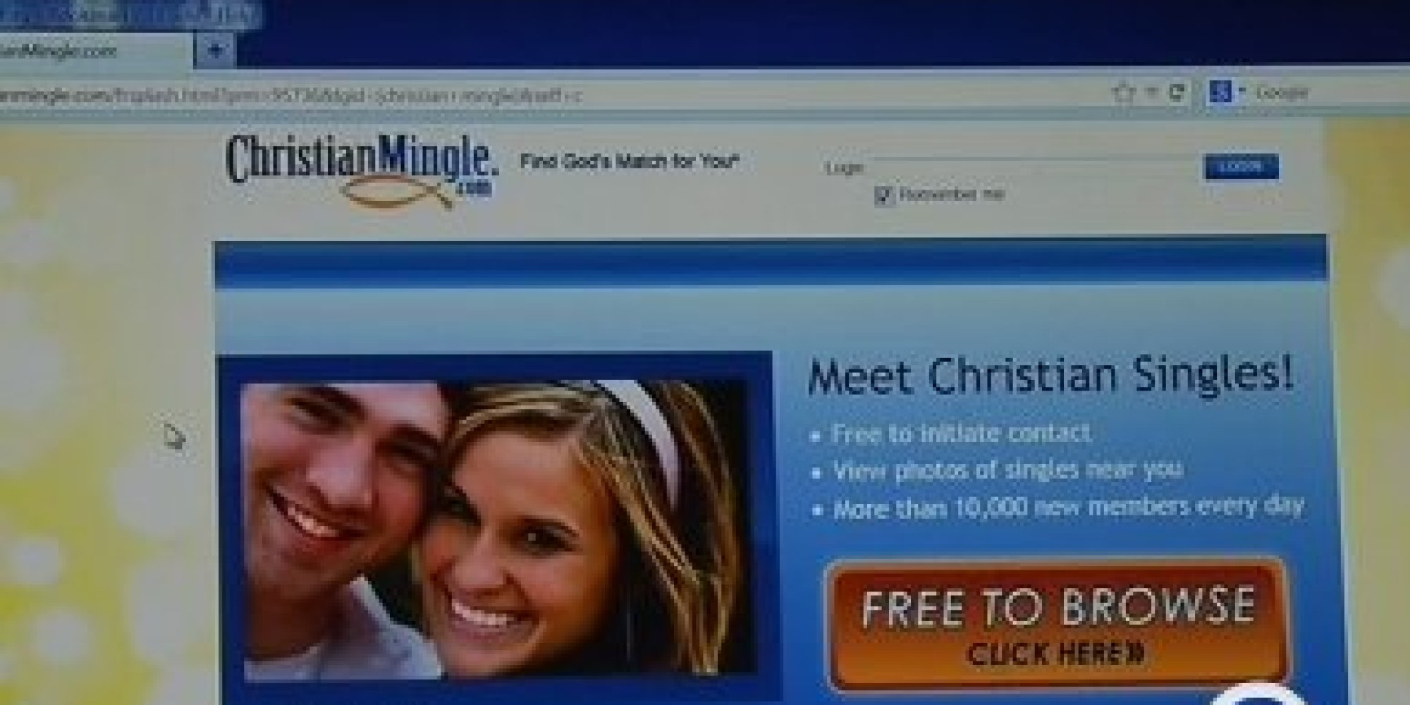 Christian dating turned gangbang