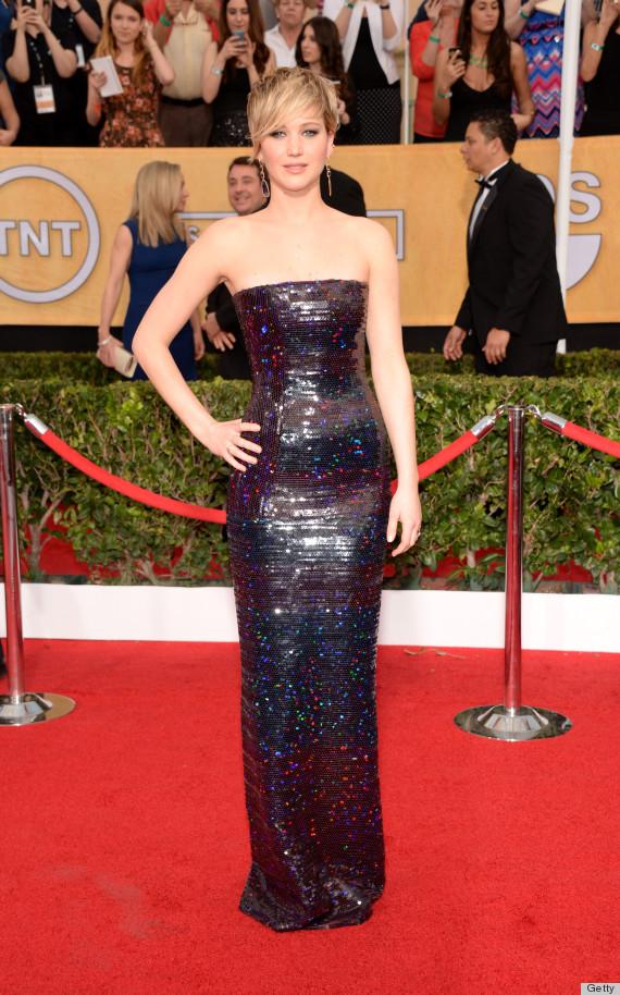 Jennifer Lawrence Sag Awards Dress
