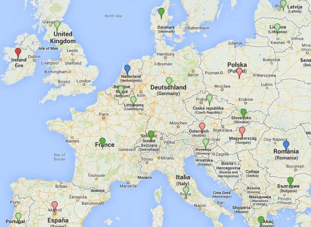 carte avortement en europe les restrictions en espagne et ailleurs font craindre pour les. Black Bedroom Furniture Sets. Home Design Ideas