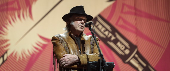 neil young oilsands tour