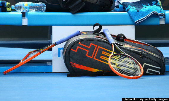 andy murray racquet