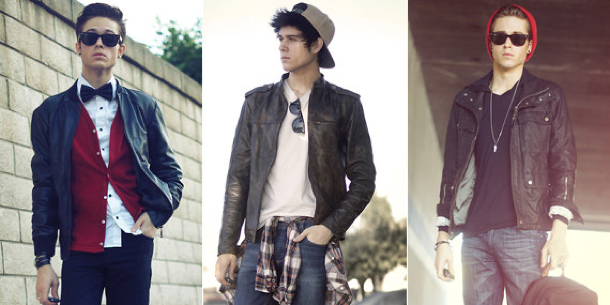 Leather jacket fashion - The One Item Every Man Should Have In His Closet A Leather Jacket Huffpost