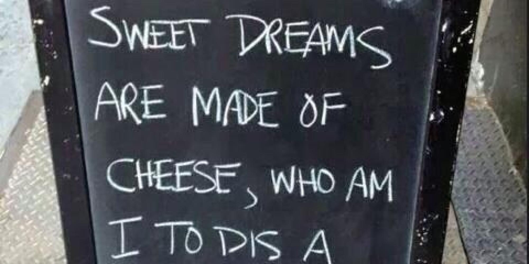 24 Hilarious Chalkboard Signs | HuffPost UK