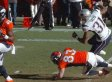 Bill Belichick Rips Wes Welker For 'Deliberate Play' To 'Take Out' Patriots' Aqib Talib (GIF)