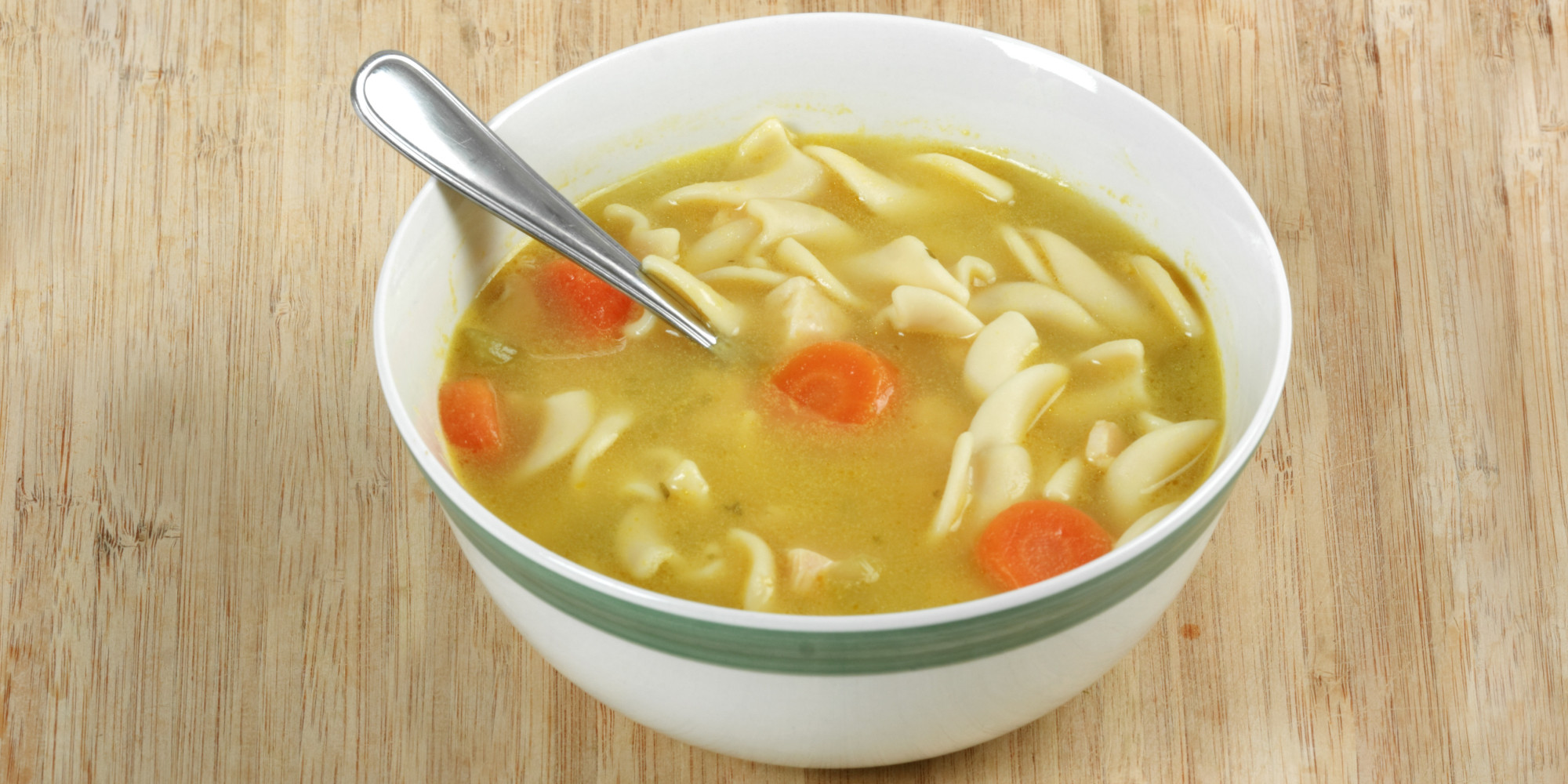 Chicken Soup's Healing Powers Can Depend On Ingredients