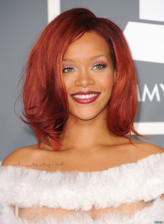 Rihannas Grammys Hair Is The Best Thing About The Grammys Huffpost