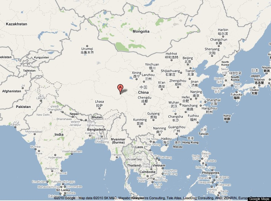 Earthquake Zones China Today's China Earthquake