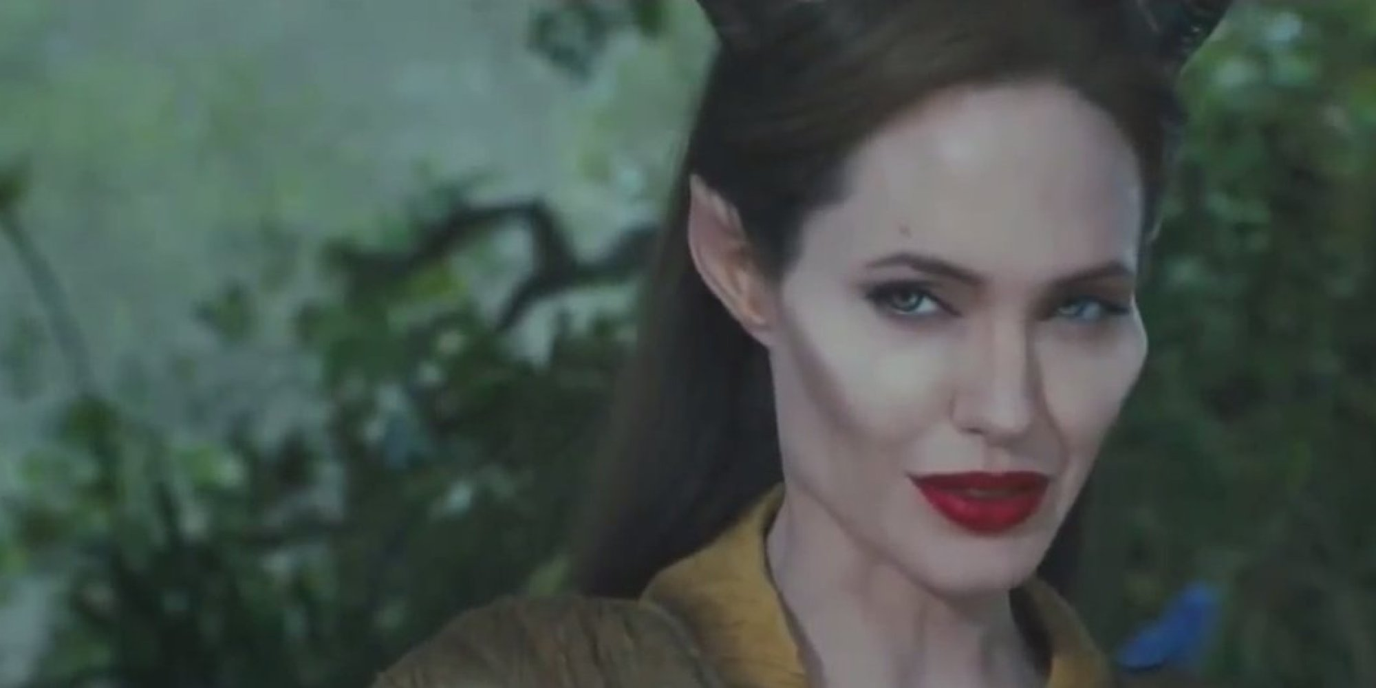 maleficent trailer makes angelina jolies cheekbones