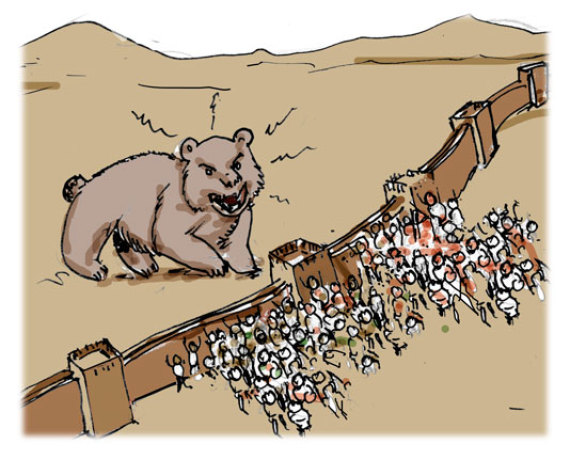 oso muralla